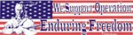 """We support Operation Enduring Freedom"""